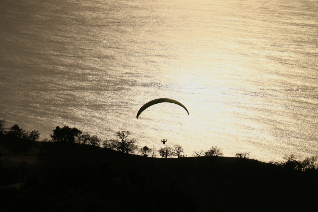 Big Sur Thanksgiving Paragliding